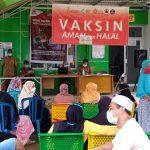 Warga Desa Sidomukti Antusias Mendapatkan Vaksin Setiap Hari Senin