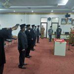Bupati Tanggamus Dewi Handajani Lantik Lima Pejabat Pimpinan Tinggi Pratama